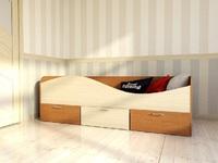 Кровать для детской КР3