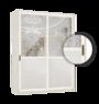 Двери купе НОВИНКА. красота дерева, прочность алюминия, а также широкая средняя рамка.