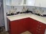 "Кухонный гарнитур ""Красный дождь и Белый дождь"" 1.6х2.37м"