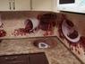 """Кухонный гарнитур """"Шоколад и Ваниль"""" фартук """"фотопечать кофе"""" 2.6х1.6м"""