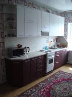 """Кухонный гарнитур """"Бархат Бордовый и Белый"""" 3.2м"""