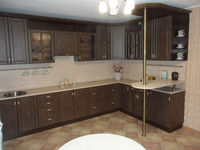 Кухонный гарнитур под старину фурнитура бронза.