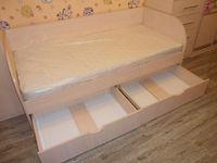 Кровать детская с ящиками 2х0.85 метра