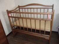 Кровать детская деревянная 1.4*0.6 м