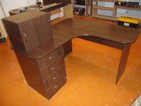"""Компьютерный стол офисный """"Венге темный"""""""