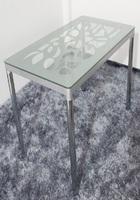 Стол прямоугольный стеклянный с рисунком